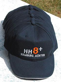 Hamburg Caps für den Hamburg Achter