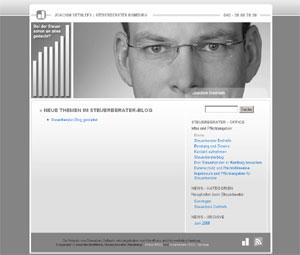 Steuerberater Dethlefs auf www.steuerberater-dethlefs-hamburg.de
