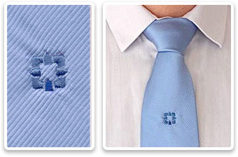 Promotion auf Krawatten: Krawatten mit Corporate Identity (CI)