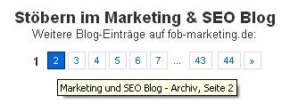 SEO Pagebar Screenshot